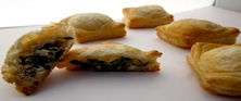 Goat Cheese and Spinach Turnover